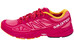 Salomon Sonic Aero Trailrunning Shoes Women madder pink/lotus pink/yellow gold